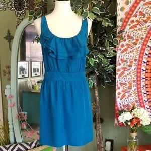 Ann Taylor LOFT 100% silk sleeveless dress